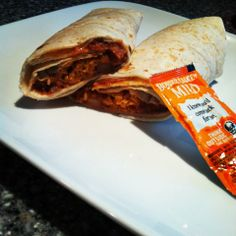 Taco Bell style bean burrito for under 200 calories