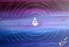 Rizwana A.Mundewadi www.razarts.com  Deep Healing At Karmic Levels, migraine pain healing symbol healing art