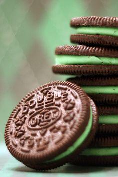 Chocolate/Mint Oreo !!