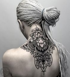Breathtaking Back Tattoo