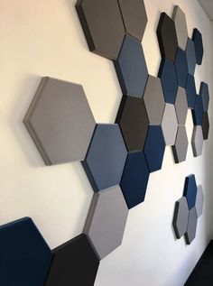 Acoustic Wall Panels, 3d Wall Panels, Diy Wall, Wall Decor, Room Wall Painting, False Ceiling Design, Office Interior Design, Textured Walls, Wood Wall Art