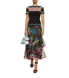 Shop Peter Pilotto at Harrods and earn Rewards points, in-store and online. Ruffled Skirts, Peter Pilotto, Dress Outfits, Dresses, Harrods, Midi Skirt, Knitting, Clothes, Shopping