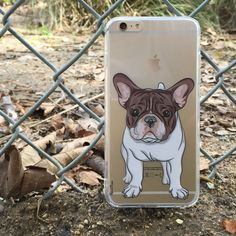 BAXTER THE FRENCHIE - A small French Bulldog is a keen and affectionate dog. Head over to http://www.flavorcases.com/collections/animals