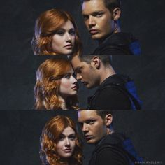 Shadowhunters Tv Show, Shadowhunters The Mortal Instruments, To The Bone Movie, God 7, Clary And Jace, Dominic Sherwood, Clace, City Of Bones, Couple