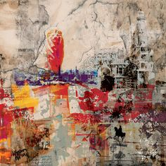 "Saatchi Art Artist Hossam Dirar; New Media, ""My Beloved Country"" #art"