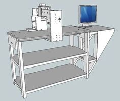 CNC and Stand Assembly