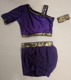 Worn as an acro costume, so all material is stretchy. Size See additional measurements in photos. Acro Dance, Egyptian Costume, Character Costumes, Dance Costumes, Size 10, Two Piece Skirt Set, Brand New, Skirts, How To Wear