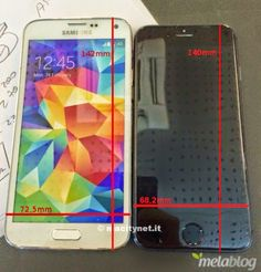 iPhone 6 insegue Galaxy S5