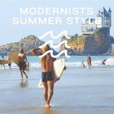 Selection Summer sur l'e-shop Modernists.fr