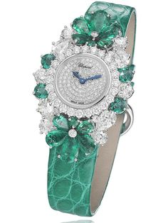 In a welcome reversal from watches the size of hockey pucks, ladies' timepieces are being scaled down to more feminine, comfortable proportions. Harry Winston, Chanel, Chopard and Hermès are introducing new watches at the Baselworld watch fair this week that are less than 30mm wide.