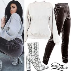 Ropa Kylie Jenner, Estilo Jenner, Looks Kylie Jenner, Kylie Jenner Outfits, Kylie Jenner Style, Casual Dress Outfits, Summer Dress Outfits, Winter Fashion Outfits, Fasion