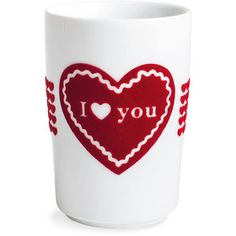 Kahla I Love You Five Senses Touch cup