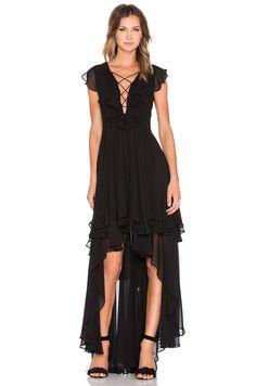 long dress revolve party