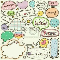 Vinyl Wall Mural cute doodle cartoon words label ✓ Easy Installation ✓ 365 Day Money Back Guarantee ✓ Browse other patterns from this collection! Art Doodle, Doodle Icon, Doodle Drawings, Doodle Cartoon, Cartoon Cartoon, Sketch Notes, Cute Doodles, Word Doodles, Bullet Journal Inspiration