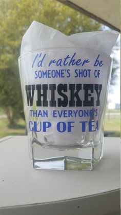 Check out this item in my Etsy shop https://www.etsy.com/listing/504881714/whiskey-whiskey-glass-grooms-gift