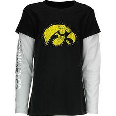 Iowa Hawkeyes Bling T-Shirt | Hawkeyes | Pinterest | Shirts, Iowa ...