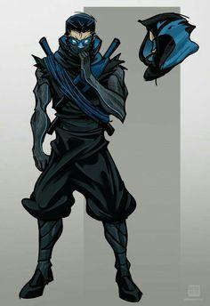 Ninja Nightwing by Nexxorcist - Batman Poster - Trending Batman Poster. - Ninja Nightwing by Nexxorcist Ninja Kunst, Arte Ninja, Ninja Art, Fantasy Character Design, Character Concept, Character Inspiration, Batman Poster, Batman Art, Batman Ninja
