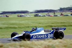 Jacques Laffite - Ligier JS11 - 1979 British Grand Prix, S ...