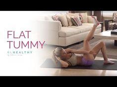 Flat Tummy | Rebecca Louise - YouTube