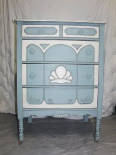 Chalk Paint Vanity & Dresser TUTORIAL