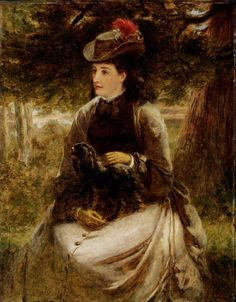William Powell Frith The Trysting Place - The Largest Art reproductions Center In Our website. Low Wholesale Prices Great Pricing Quality Hand paintings for saleWilliam Powell Frith Victorian Art, Victorian Women, William Powell, Fashion Painting, Old Master, Large Art, Portrait Art, Art Reproductions, Art World