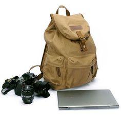 Leisure Backpack Safari DSLR Camera Bag Professional Camera Backpack Canon Nikon Bag bbk-S2 Yellow