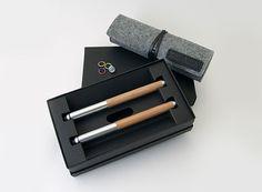 ISHUJA's Eco-Essential Pen and Pencil — ACCESSORIES -- Better Living Through Design