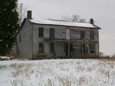 Aunt Ruth and Uncle Alvin's farm house, now abandoned - Foster KY (photo by Barry Grossheim)