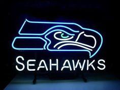 NFL Seattle Seahawks Football Sport Teams Neon Light Sign