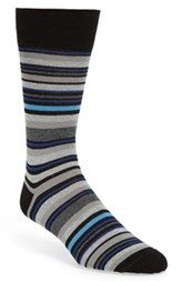 Lorenzo Uomo Stripe Socks (3 for $27)