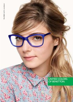 Benetton Fall Winter 2014 Eyewear Campaign by Giulio Rustichelli