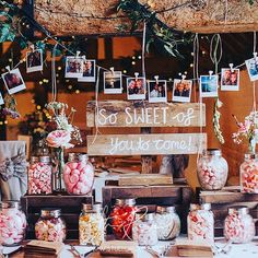 """Ufton Court on Instagram: """"Love how our #brides use the wooden beams in our #tithebarn to make stunning #backdrops to cake and sweetie tables. Photo by…"""" Cake Table Birthday, 60th Birthday Cakes, 40th Birthday Parties, Sweetie Table Wedding, Wedding Table, Wedding Reception, Wedding Snacks, Wedding Planning, Wedding Ideas"""
