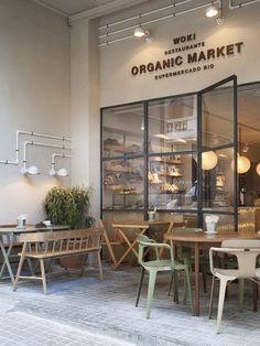 WOKI ORGANIC MARKET / Restaurante CÉLERI - Picture gallery