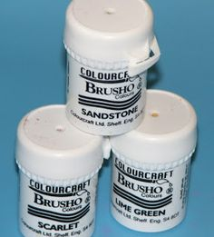 Great info on brushos: Ink Stains: Brusho Colour Crystal Color Tags