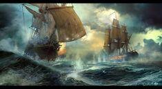 ArtStation - Duel, Vladimir Manyukhin