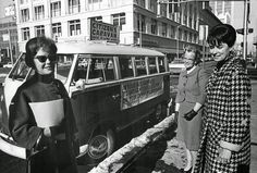 Women Voters League Officials offer rides to voters in 1965. vintage everyday: Historic Photos of Women Voting Throughout the Years