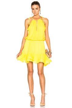 Image 1 of Alexis Monic Dress in Yellow