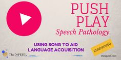 Using Song to Aid Language Acquisition
