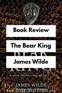 Between lock-downs and library closures, I waited a long time for this book. Although it's been a while since reading book 2, I was instantly transported back into this world, and loved it. Today, I'm sharing my review on The Bear King – third in the Pendragon trilogy by James Wilde.