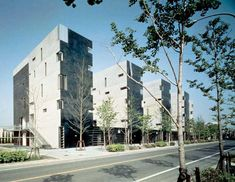 Steven Holl, Fukuoka Apartments