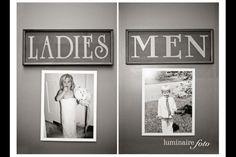 Wedding toilets!