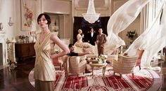 """For anyone looking to add a little glitz and glamour to their homes, Baz Luhrman's take on """"The Great Gatsby"""" is a must see. Each room in the film has its own distinct feel, and while the interiors are quite grandiose, they brilliantly capture the feel of the Roaring Twenties.   - ELLEDecor.com"""