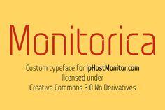 Monitorica – Free Font