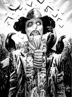 Scarecrow by Tony Moore *