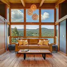 Cabin by the lake - Small Space, Big Dreams Home Awards: Whole House Finalists - Sunset