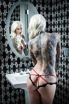 itsall1nk: More Hot Tattoo Girls athttp://itsall1nk.tumblr.com
