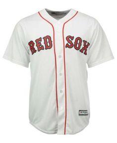 Majestic Men's Mookie Betts Boston Red Sox Replica Jersey - White XXL
