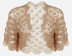 ergahandmade: Crochet Bolero + Diagrams