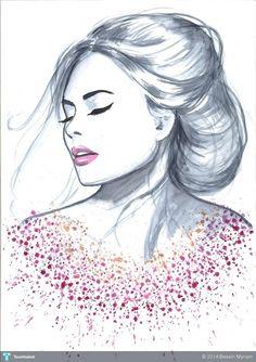 Vita Yang #Creative #Art #Design @touchtalent.com