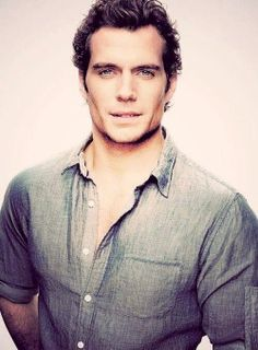 Henry Cavill needs to be Christian Grey.
